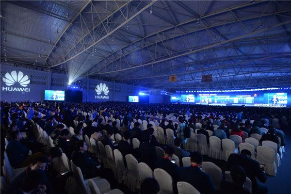 2016华为中国合作伙伴大会现场
