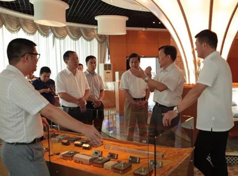 中国工程院原副院长干勇院士一行到瓯宝公司调研