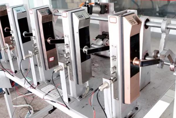 指纹锁检测实验室