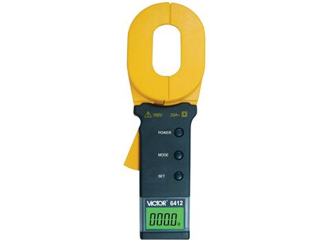 VICTOR 6412钳形接地电阻测试仪