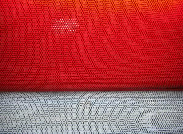高强膜红白蜂窝状